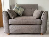 Stokers Two Seater Sofa and Snuggler