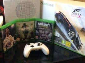 Xbox One S with 4 of the LATEST Games
