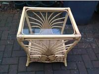 Wicker Side Table in Birkhill