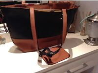 Black and brown oasis bag
