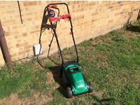 CLEAN 1200W QUALCAST CORDED ROTARY LAWN MOWER / LAWNMOWER ( NO GRASS BOX )