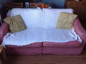 Sofabed - quite worn but still comfy - collect from 1st floor flat only