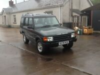 Land Rover discovery xs tdi.