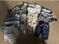 Baby boys next first size small bundle