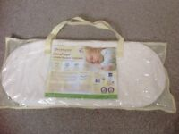 Clevamama foam Moses basket mattress