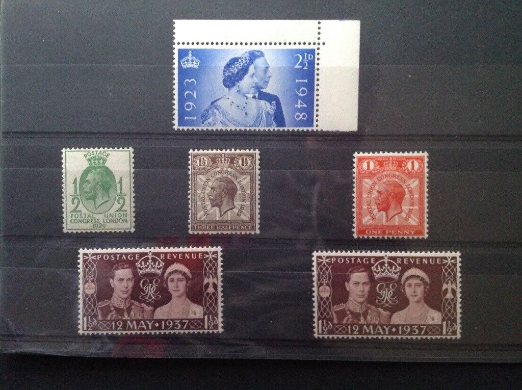 King George Vl and V stamps selection