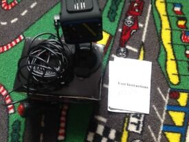 Used car camera recorder with Police safety camera and radar warnings