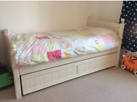 Aspace Childrens bedroom furniture set - main & guest bed, wardrobe, cupboards and mattress included
