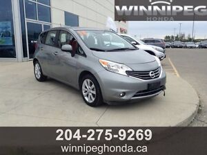 2014 Nissan Versa Note SL. One owner, low kilometres, amazing c