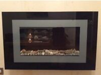 Electric fire for sale flame effect, remote control workings.