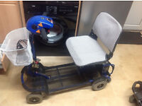 Shoprider car boot mobility scooter in good used condition , carries 16 stone 8 miles