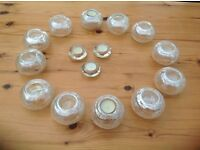 Attractive tea light holders for party/wedding tables