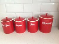 House of Fraser storage jars