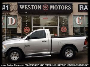 2014 RAM 1500 SLT* SPORT* FLEX FUEL* BLUETOOTH* BEAUTIFUL TRUCK