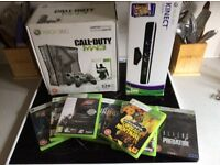 Xbox360 MW3 LTD EDITION 320g with Kinect and 6 games