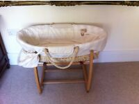 Mama's and Papa's- Once upon a Time, cot bumper, moses basket/rocker,duet,nappy stacker,changing mat