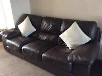 Two x3 seater sofas