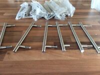 Solid T bar cabinet handles (New)