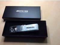 Mercedes AMG carbon Key Ring - Christmas gift!