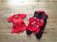 Liverpool Kids Kit and Tracksuit