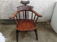 Antique Winsor barber chair
