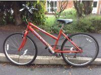"""Raleigh Bike - 26"""" wheels, suit Teenager/Smaller Adult"""