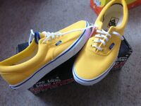 Vans trainers size UK8.5. Brand new with tags and box.