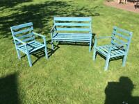 Children's set of garden furniture - vintage look