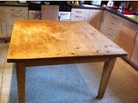Amazing kitchen table - handmade solid pine