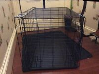Puppy cage.