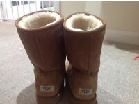 Ugg Boots Tan Men's Size 10
