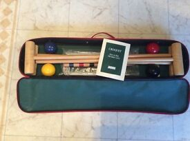 CROQUET SET BY JAQUES of LONDON