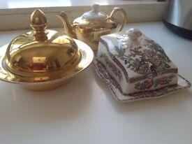 Royal work Hester tea pot