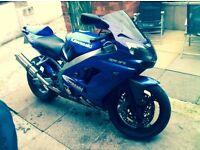 Kawasaki ninja zx9r e1 full mot amazing bike an condition