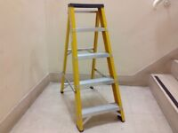 FIBREGLASS STEP LADDERS X 2 AVAILABLE