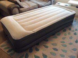 Single inflatable bed Nordic peak
