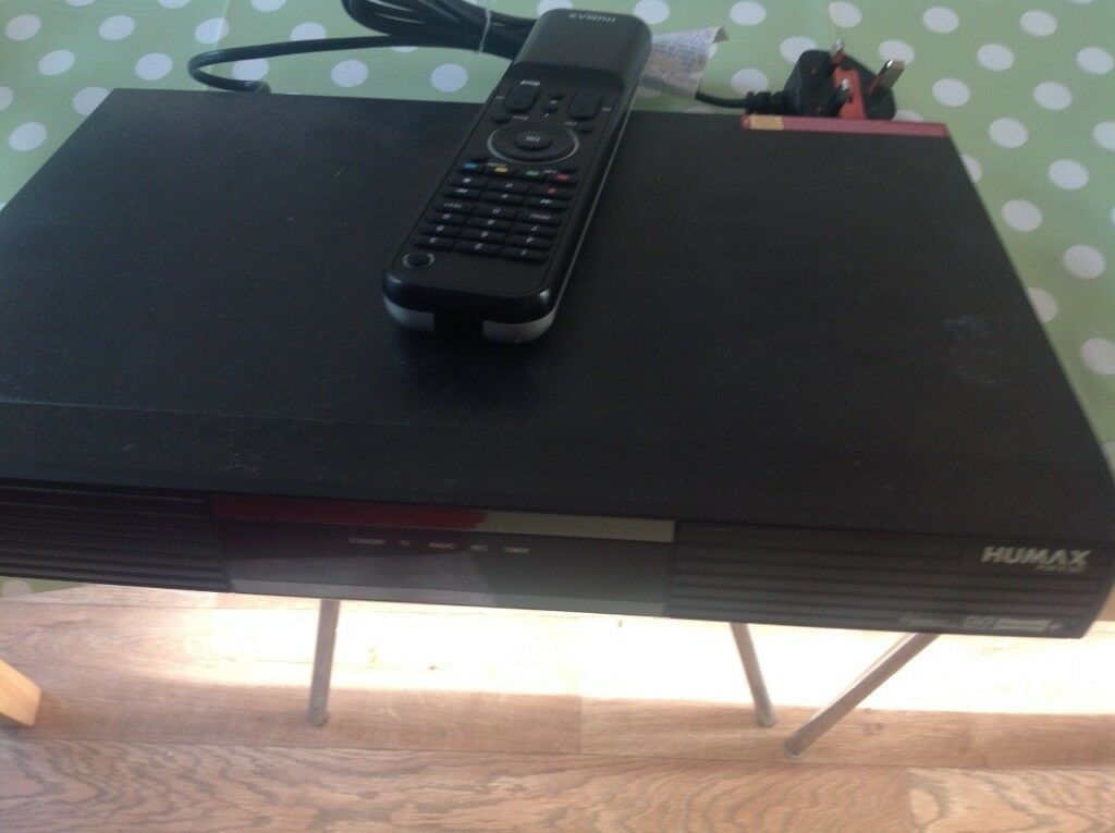 Humax Freeview (Recordable) Box with remote