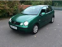 VW Polo 1.2 petrol 2owners full service history