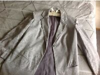 """SMART OR CASUAL (COAT JACKET ) NEW SIZE 12 , IN A PALE GREY,REALLY NICE JACKET FROM """"NEXT"""" BARGAIN!"""