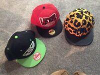3new baseball caps