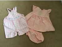 Baby girls clothes age 6-12 months