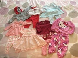 Baby girls outfit bundle 0-3 & 3-6