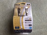 Labgear 3metre HDMI cables, three in total. for sale  Weymouth, Dorset