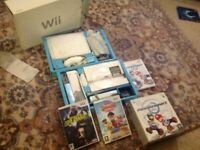Wii console bundle inc 3 games