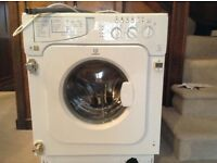 Washing machine - integrated Indesit washing machine - bought last September