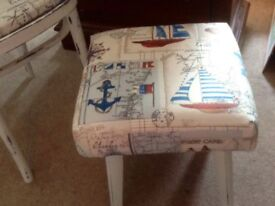Nautical foot rest/seat/stool