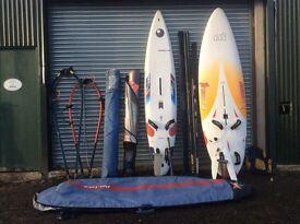Great quality windsurfing kit!
