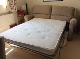 Sofa bed - hardly used