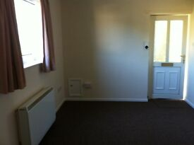 One-bedroomed, unfurnished, self-contained flat