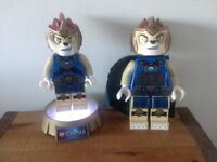Lego Chima Laval night light/torch and clock